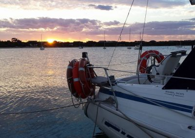 Sunset over Camerons Bight - Commander